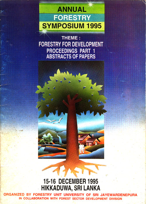 Annual Forestry Symposium 1995