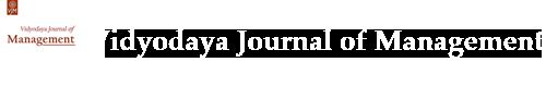Vidyodaya Journal of Management
