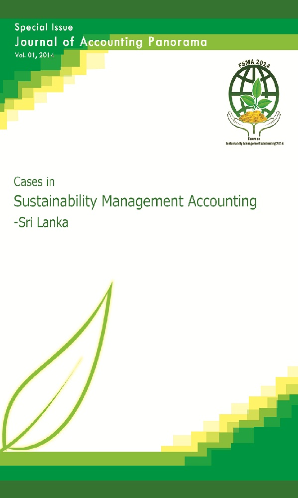 View Vol. 1 No. 1 (2014): Journal of Accounting Panorama