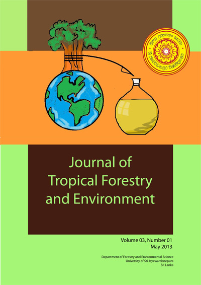 Journal of Tropical Forestry and Environment 2013 Vol 3 1