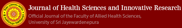 Journal of Health Sciences and Innovative Research